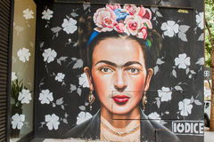 Grafitti Sao Paulo Royaltyfri Bild