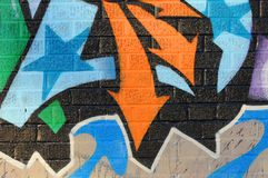 Grafitti wall Royalty Free Stock Photos