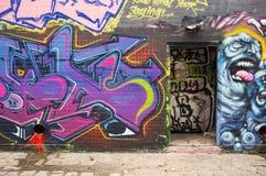 Grafittibakgrund Royaltyfria Bilder