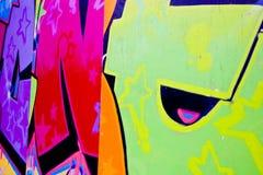 grafittibokstäver Arkivbilder
