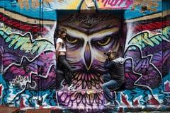 Grafittifotofors Arkivfoton