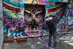 Grafittifotofors Royaltyfri Fotografi