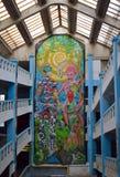 Grafittigalleri, Bucharest, Rumänien Royaltyfri Foto