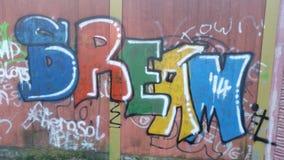 Grafittikonst Arkivbild
