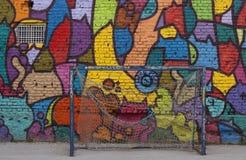 Grafittikonst arkivbilder
