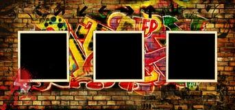 Grafittikonst Royaltyfri Bild