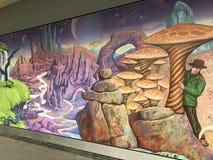 Grafittikonst i UK Fotografering för Bildbyråer