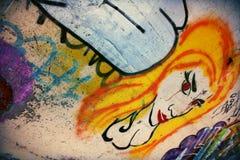 Grafittikonst - Inverness royaltyfri foto