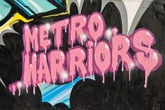 grafittipink Arkivfoton