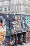 Grafittis 4 de Bristol Foto de Stock