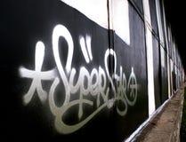 Grafittis Fotografia de Stock