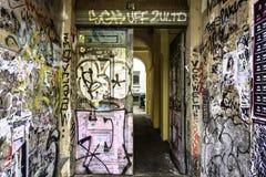 Grafittis Berlin Germany fotografia de stock