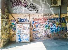 grafittis 31-City Imagem de Stock Royalty Free