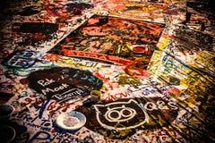 Grafittis coloridos Desenho criativo abstrato ilustração royalty free