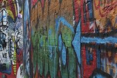 Grafittis com seta Imagens de Stock Royalty Free