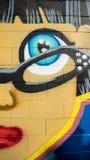 Grafittis da cara Fotos de Stock