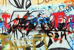 Grafittis da cidade Imagem de Stock Royalty Free