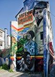 Grafittis da cidade Imagens de Stock
