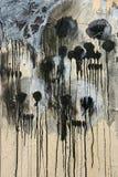 Grafittis da morte Imagens de Stock