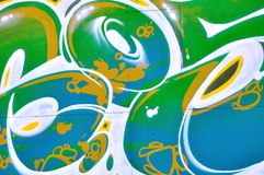 Grafittis da rua Fotografia de Stock Royalty Free