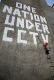 Grafittis de Banksy Foto de Stock