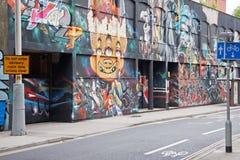 Grafittis de Bristol Fotografia de Stock Royalty Free