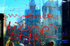 Grafittis de Londres fotografia de stock