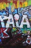 Grafittis de Paia Imagem de Stock Royalty Free