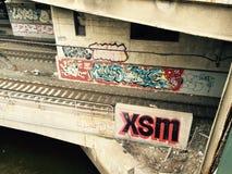 Grafittis do providência Fotografia de Stock