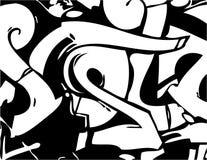 Grafittis do vetor Imagens de Stock
