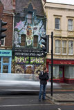 Grafittis em Bristol Fotos de Stock