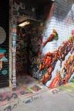 Grafittis em Melbourne Foto de Stock Royalty Free