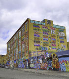 Grafittis em New York City Imagens de Stock