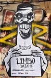 Grafittis em Sófia Foto de Stock