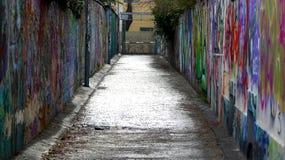 Grafittis em Viena, Áustria foto de stock