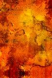 Grafittis envelhecidos e fundo velho de pintura da parede, textura Foto de Stock Royalty Free