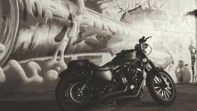 Grafittis HD883 Fotografia de Stock