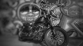 Grafittis HD883 Fotos de Stock Royalty Free