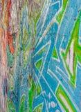 Grafittis na parede Imagem de Stock