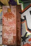 Grafittis Nr 4 Imagem de Stock