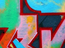 Grafittis, Praga Imagem de Stock Royalty Free