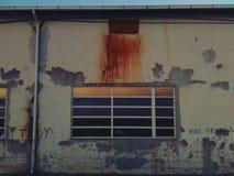 Grafittis velhos Fotografia de Stock