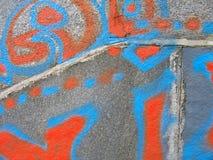 grafittitextur Fotografering för Bildbyråer