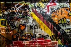 GrafittiTyskland royaltyfri bild