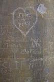 grafittivägg Royaltyfria Bilder