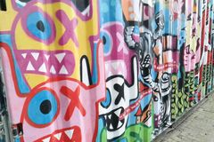Grafity, ox aliens, by Stock Photography