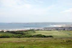 Grafschaft Derry Küstenlinie Stockbild