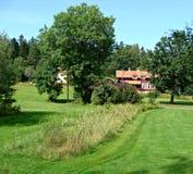 Grafschaft Uppsala Lizenzfreies Stockfoto
