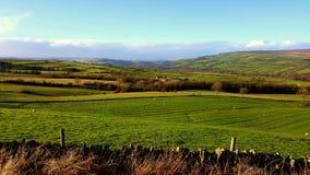 Grafschafts-Durham-Landschaft Lizenzfreies Stockbild
