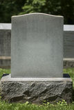 Grafsteen 2 Stock Foto